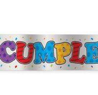 Cartel Feliz Cumpleaños x 2