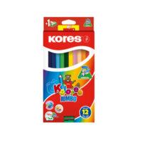 Caja de Colores Kores Jumbo x 12