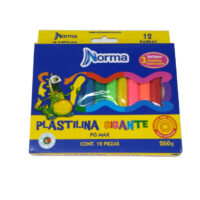 Plastilina Gigante x 12 Norma