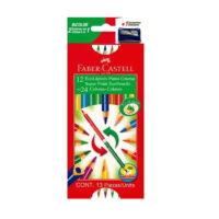 Caja de Colores Fabercastell Bicolor 12×24