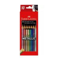 Caja de Colores Fabercastell Metalizados x 10