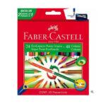 Caja de Colores Fabercastell Bicolor 24×48