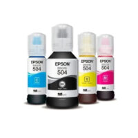 Tinta Epson Original 504 Negra / Color