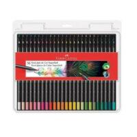 Caja de Colores Fabercastell Supersoft x 50