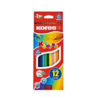 Caja de Colores Kores x 12