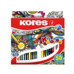Caja de Colores Kores x 50