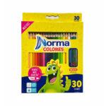 Caja de Colores Norma x 30