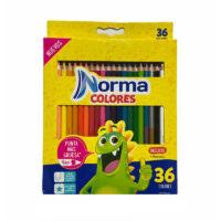 Caja de Colores Norma x 36