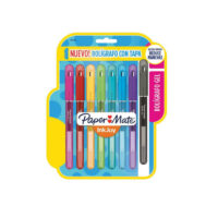 Lapicero Gel Papermate Inkjoy 0.7 (con tapa)
