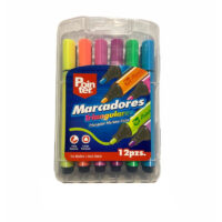 Marcadores Triangulares Pointer x 12