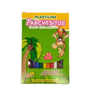 Plastilina Parchesitos x 13