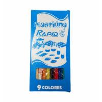 Plastilina Rapid x 9