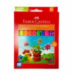 Plastilina Faber Castell Jumbo Neon x 10