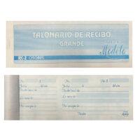 Talonario de Recibo Grande RC-2