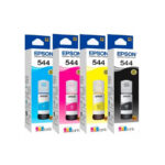 Tinta Epson Original 544 Negra / Color