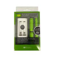 Cargador USB Pilas/Baterias + Par pilas AA+ Par pilas AAA