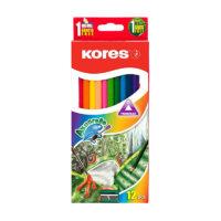 Caja de Colores Kores Akuarelle x 12