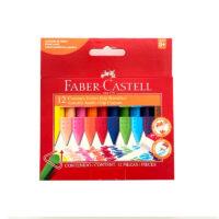 Creyones Faber Castell Jumbo Borrables x 12