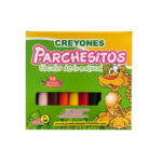 Creyones Parchesitos Gigantes x 10