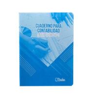 Cuaderno para Contabilidad 50-3 1/2 Oficio