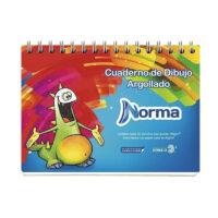 Cuaderno de Dibujo Argollado Norma