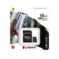 Memoria Micro Sd 16gb 100mb/s Clase 10 Kingston
