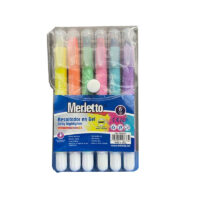 Resaltadores en Gel Merletto x 6