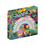 Marcadores Permanentes Sharpie Ruleta Tropical x 33