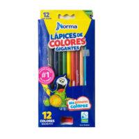 Caja de Colores Norma Gigantes x 12