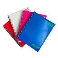 Cuaderno Argollado Cuadros Pasta Dura Solid Color