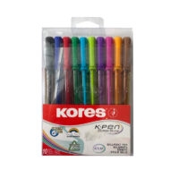 Lapiceros Triangulares Kores K Pen x 10