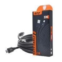 Cable Datos Micro USB (V8) MTF 117 (3 metros)