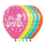 Globos Feliz Cumpleaños Tropical Infinity
