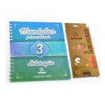 Mandalas Para Colorear 3 (libro + 24 Colores)