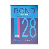 Block Bond 115 gramos Hojas 1/4