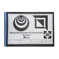 Block Bond 28 Formato Din A3 Horizontal