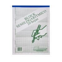 Block Semilogarítmico x 20 hojas