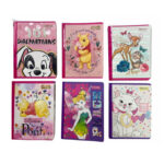 Cuaderno Disney Cosido Femenino100 H Doble Linea