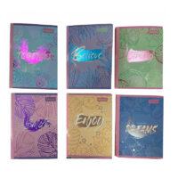 Cuaderno Flower Power Pastel Cosido 100 H Cuadros