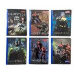 Cuaderno Injustice Cosido 100 H Cuadros