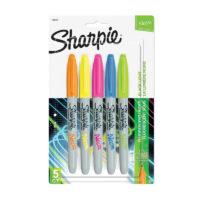 Marcadores Permanentes Sharpie Neon x 5