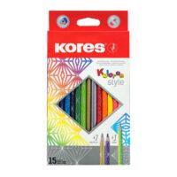 Caja de Colores Kores Style x 12